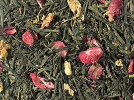 thé vert fraise litchi