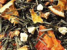 thé vert orange passion